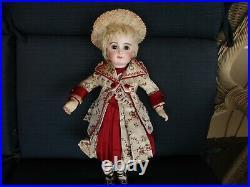 15 Early Bebe Jumeau Doll With RARE 8 Ball Wood Body