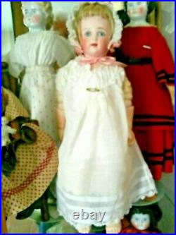 15 Rare Early Kestner Close Mouth Shoulder Head With Rare Body Super Doll