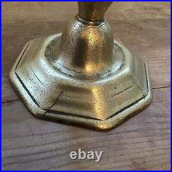 £20 Off 17th Century Brass Candlestick Antique Rare Early 17 Th Century Flanders