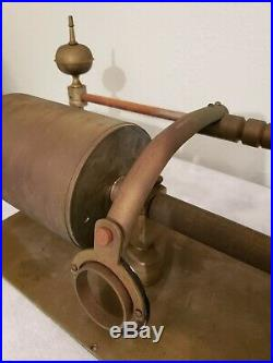 ANTIQUE EARLY 5 CYLINDER PHONOGRAPH (brass metal) RARE Late 1800's UNIQUE