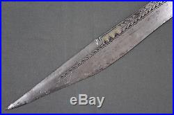 A rare early example of the traditional flissa dagger Algeria, 18th 19th cent