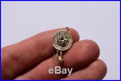 Ancient Early Roman Pure Gold Earring Circa II III century AD SUPER RARE Wire