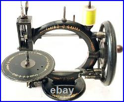 Antigua maquina de coser little WANZER EARLY antique & rare sewing machine 1869