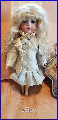 Antique10 Gebruder Heubach Doll Germany Rare Stunning Beauty Early 1900's