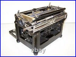 Antique 1905 Underwood Early Rare Model 4 Vintage Typewriter #72720-4