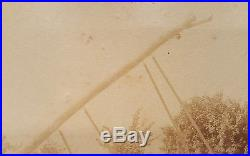 Antique Artistic Telephone Utility Cable Installation Lineman Rare Early Photo