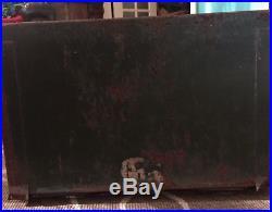 Antique Early 1900's Mccaskey Cash Register Credit File Cabinet Rare