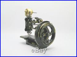 Antique Early Charles Raymond'New England' Rare Miniature Sewing Machine c1860s