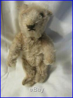 Antique Early Mohair Teddy Bear Vintage Rare 6 Miniature Sm Stargazer Steiff