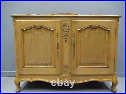 Antique French Oak Sideboard Early 20thC Golden Oak Rare Design