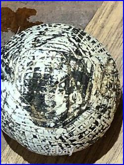 Antique Golf Ball Early Hand Hammered Gutty Ball C1850/60 Very Rare See Desc