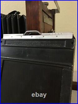 Antique KORONA Rare early CAMERA TB Conley Safety 863 wood folding large format
