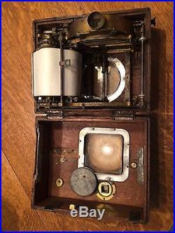 Antique Pigeon racing Clock Very RARE Plasschaert Freres Early 1900's