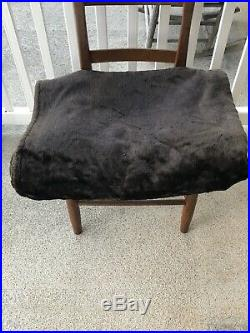 Antique RARE Stroock Carriage Lap Blanket Late 1800's early 1900's Free Ship