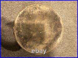Antique Rare 4 Gallon Saltglazed Stoneware Cooler- Dispenser Early Cobalt Blue