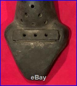 Antique Rare Circa 1905 Morril's Removable Mouthpiece Football Noseguard Early