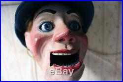 Antique Rare Early 20thC Cased Ventriloquists Dummy By Arthur Quisto