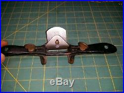 Antique Stanley No 65 Early adjustable chamfer spoke shave Good quality rare