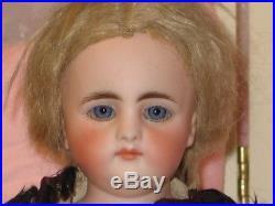 Beautiful Rare All Original Antique S4h Simon & Halbig Early Shoulder Head Doll