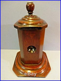 EARLY 19thC RARE GEORGIAN MAHOGANY TABLE-TOP CIGAR CUTTER, c 1800-30