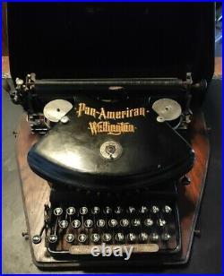 Early 1900's Pan American Wellington Typewriter! Rare