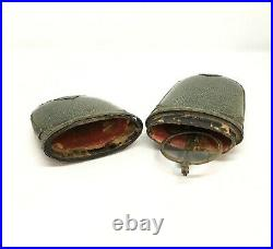Early 19th C. Chinese Eyeglasses with Folding Temples and Shagreen Case, RARE