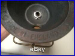 Early General Electric Company bankers lamp with rare amber glass shade