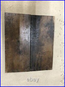 Early RARE- Antique- Primitive Wooden Gameboard
