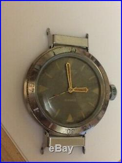 Early rare vintage USSR watch Vostok AMPHIBIAN divers to swing the lugs serviced