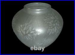 Exceptional RARE Early Antique Rene Lalique Esterel Vase NO. 941 Circa 1923