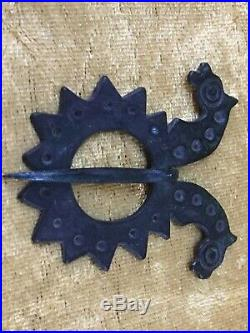 Extremely Rare Early Anglo-saxon Brooch. Circa 5th-6th Century