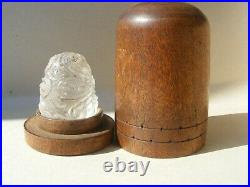 Extremely Rare Early Islamic Rock Crystal Chess piece c1000AD Fatimid Egypt