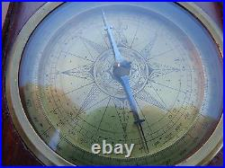 Extremely Rare La 17th Early 18th Century Z Dutch Netherlands Marine Compass