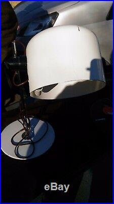Joe Colombo Coupe Table Lamp Oluce 1964 Rare Early Production Lampada Tavolo