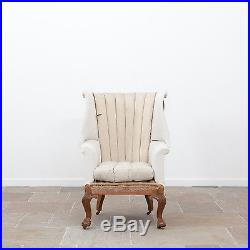 Large Early 20th Century Rare Antique Howard and Sons Barrel Back Armchair