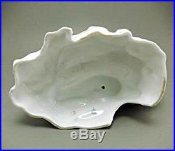 Large Early Karl Ens Volkstedt Porcelain Rooster Chicken Vase Rare C. 1900