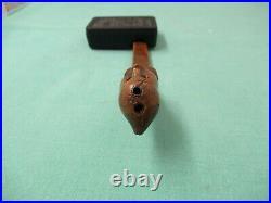 Late 18th. Early 19th. Century rare fruitwood knitting sheath