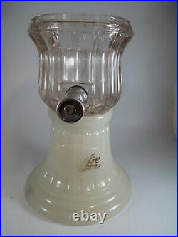 NuGrape Glass Syrup Dispenser Early 1900s Antique Soda Fountain Authentic Rare