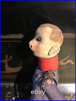 Perfect Christmas Antique Rare Early Steiff Felt German Ulanen Soldier Doll 1910