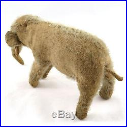 RARE Antique Early 20th c. German Mohair Elephant Toy