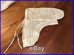 RARE Antique Late 1700, Early 1800's White Lace Cap/Bonnet/Hat Regency