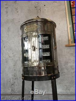 RARE! EARLY 1900'S BARBER SHOP RAZOR STERILIZER-STEAMER. PELLERAY /PARIS. L@@k
