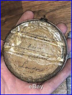 RARE EARLY ANTIQUE MASONIC DIORAMA FROM 13th FLETCHER LONDON PRISONER OF WAR