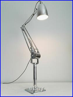 RARE EARLY HADRILL HORSTMANN PROTOTYPE ROLLER LAMP. 1940s INDUSTRIAL ANGLEPOISE