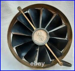 RARE EARLY MODEL 19th CENTURY BIRAMS PATENT ANENOMETER AIR METER BAIRD GLASGOW