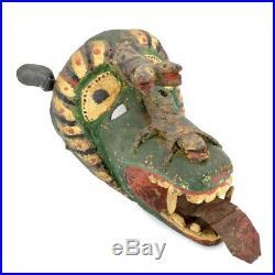 RARE Early 1900's Mexican Carnival or Dance Mask Tonala Tastoan
