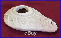 RARE Early EGYPTIAN 1st Century BC Clay ARTIFACT ANCIENT OIL LAMP Antiquities