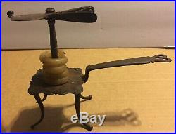 RARE Wax Jack 1690-1730 Original Primitive Iron Early Pre Colonial Beeswax 17thC