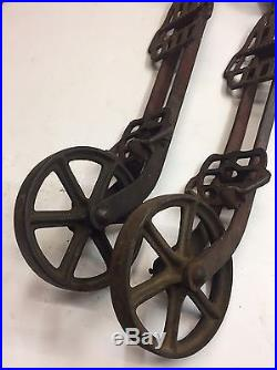 ROCKAWAY ANTIQUE STEEL ROLLERSKATES Speed Skates Foot Cycle Rare Early 1900s