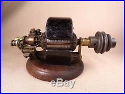 Rare 1800'S Electric Motor Elbridge Mfg Co Dynamo Early Electric Motor Antique